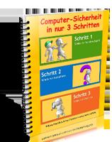 """Gratis E-Book """"Computer-Sicherheit in nur 3 Schritten"""""""
