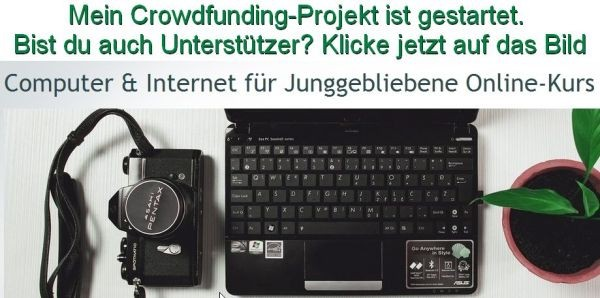 Crowdfunding-Projekt Start