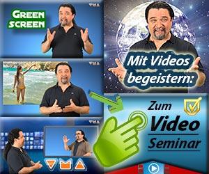 Greenscreen - Videokurs von Ivan Galileo