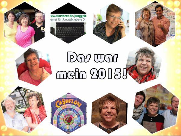 2015 Rückblick - das war MEIN Jahr