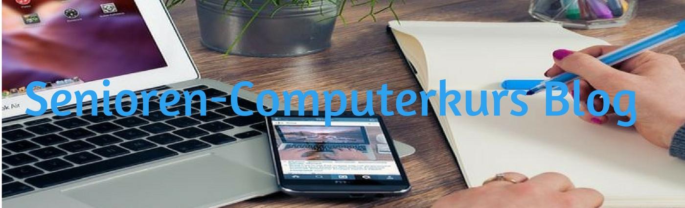Senioren-Computerkurs Blog