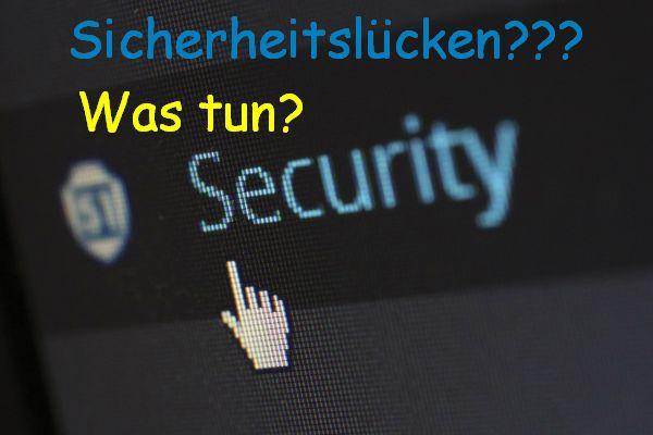 Sicherheitslücken beim PC, Smartphone und Tablet