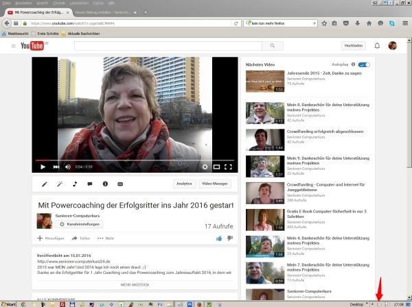 Firefox und Video starten