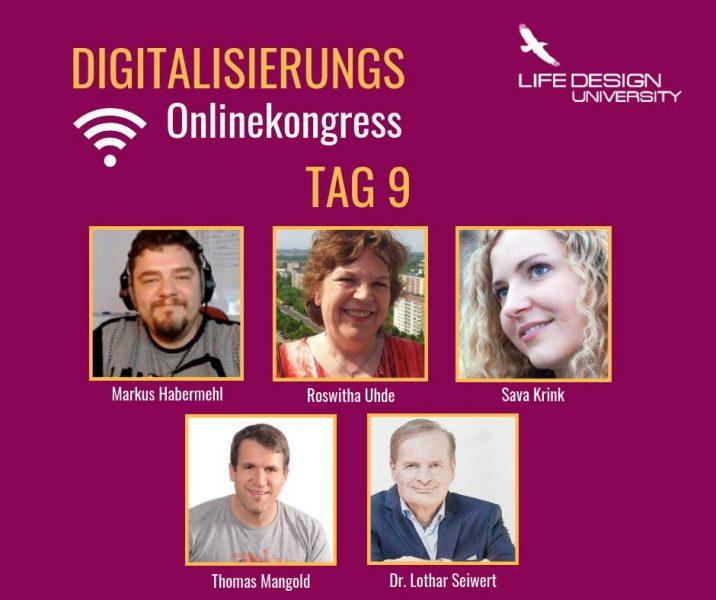 Mein Interview neben tollen Profis im Digitalisierungs-Online-Kongress online