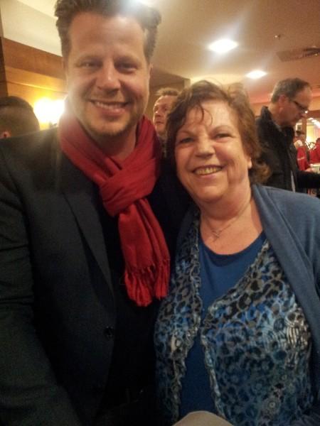 Roswitha mit Alex Fischer