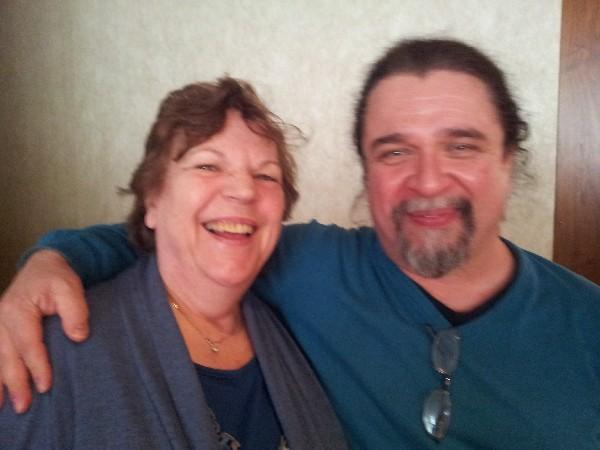 Roswitha mit Ivan Galileo auf den Affilidays 2016