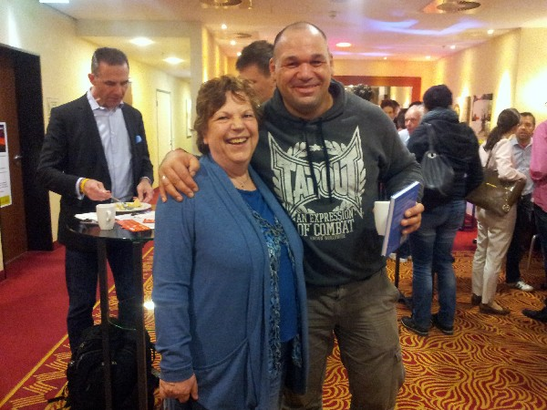 Roswitha mit Michael Turbanisch