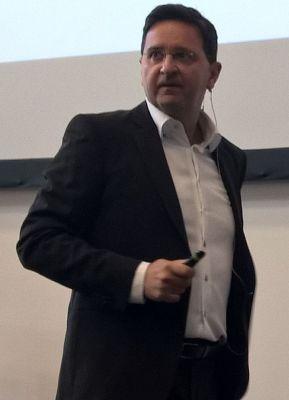 Vortrag von Andre Loibl beim 1. Communityday