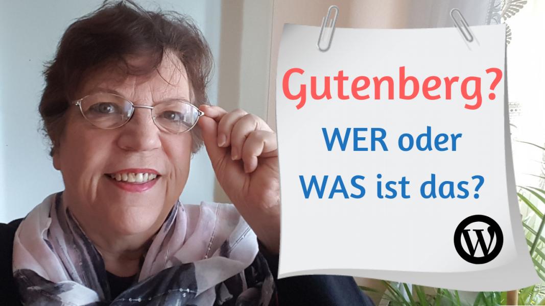 Gutenberg - Wer oder was ist das?