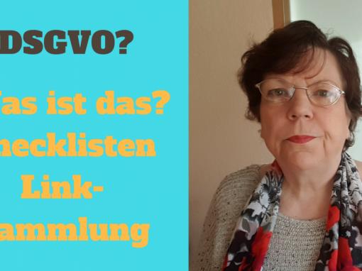 DSGVO Checklisten und mehr