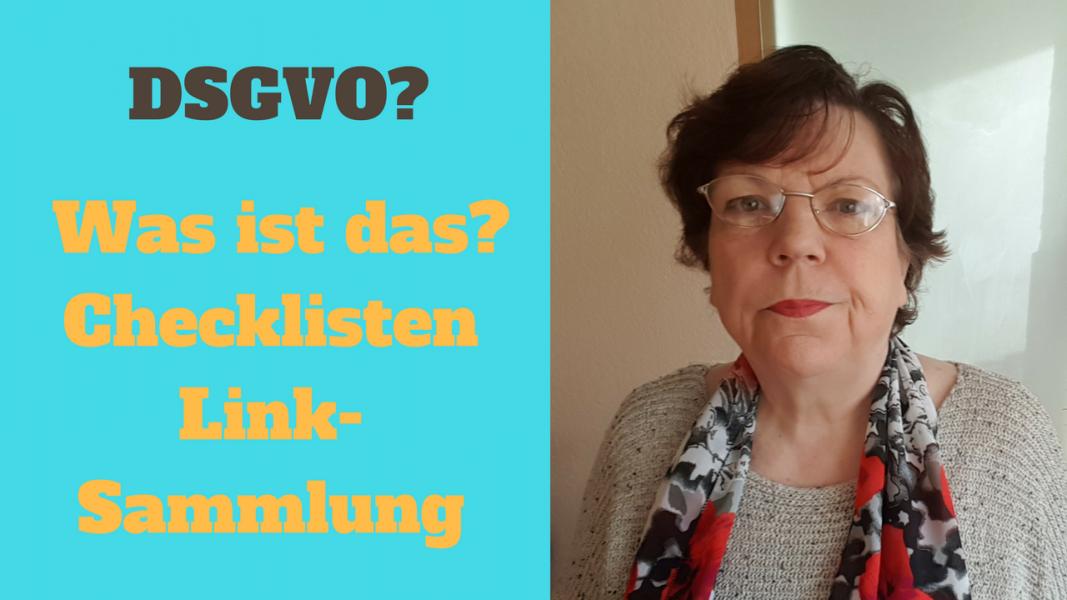 DSGVO Checklisten