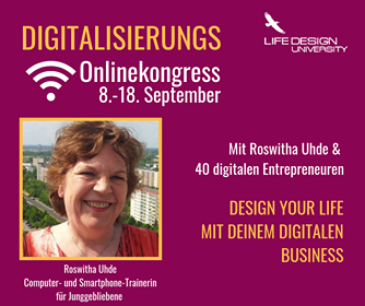 Roswitha Uhde ist Interview-Partnerin im Digitalisierungs-Online-Kongress