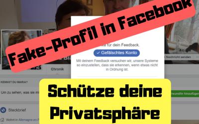 Fake-Profil in Facebook – Schütze deine Privatsphäre