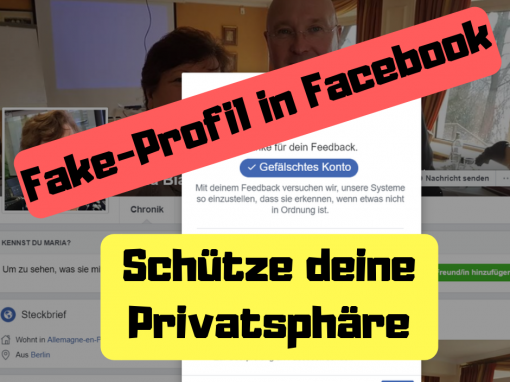 Fake-Profil in Facebook