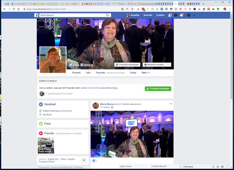 Fake-Profil in Facebook mit meinen Bildern 2018_0925