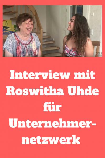 Interview mit Roswitha Uhde für Unternehmernetzwerk