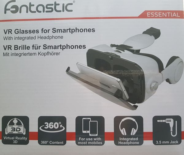 Verpackung meiner VR-Brille
