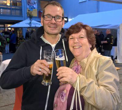 Roswitha Uhde und Florian Schoel beim 1. Communityday