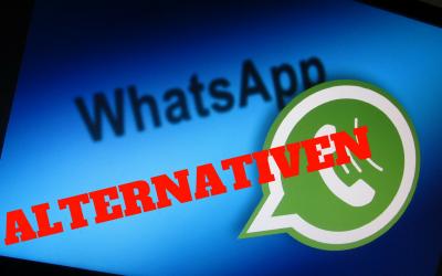 WhatsApp Alternativen finden und WhatsApp löschen
