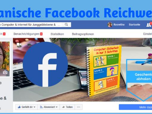 Warum die organische Facebook Reichweite drastisch runter geht